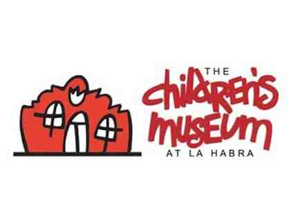 Two Passes to visit the Children's Museum at La Habra