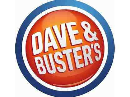 Two Power Cards to Dave and Buster's