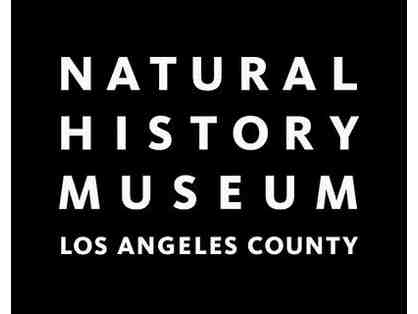 Four Guest Passes to either The Natural History Museum or LA Brea Tar Pits