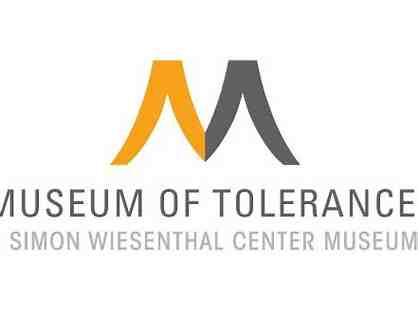 Two Admissions to the Museum of Tolerance