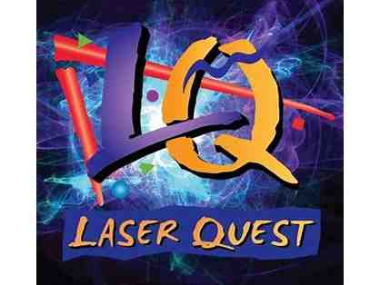 Free Game of Laser Quest and Escape Room for Four to Laser Quest
