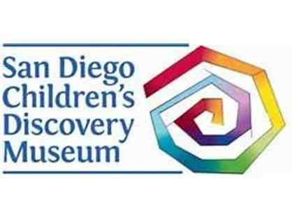Four Passes to the Children's Discovery Museum