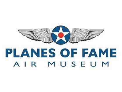Four Passes to the Planes of Fame Air Museum