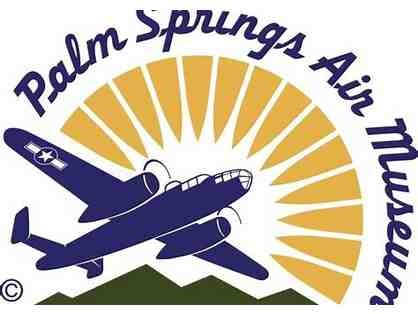 Two Passes to the Palm Springs Air Museum
