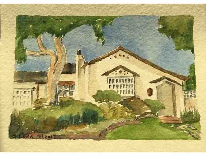 Watercolor House Portrait