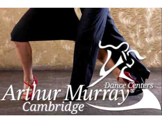 Arthur Murray Dance Center of Cambridge - 2 Private Lessons & 1 Group Class for 2 People