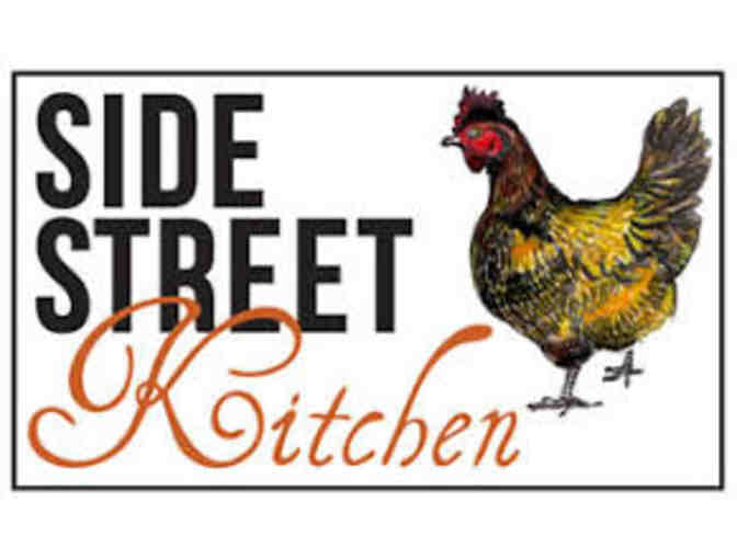 Dinner for Two at Side Street Kitchen