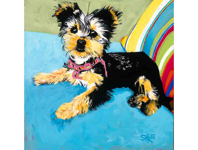 Pet Portrait by Shelley Rugg