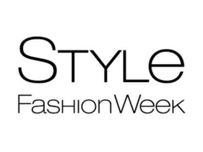 Two front row VIP tickets for Style Fashion Week NY