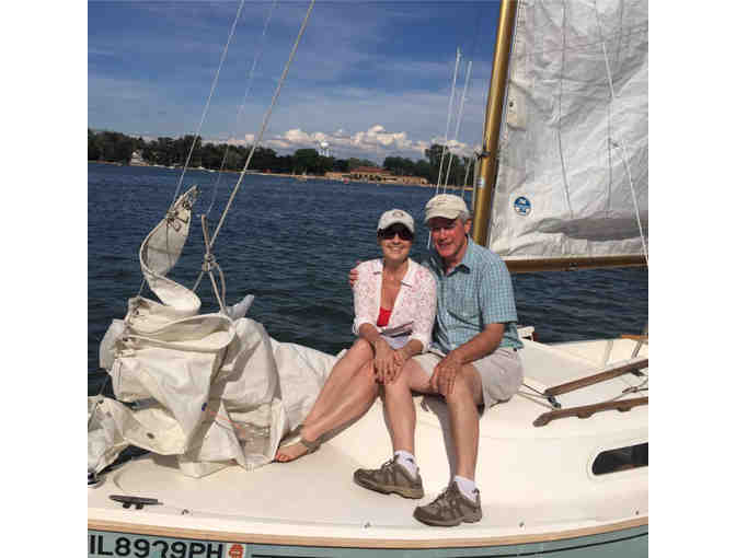 Sunset Sail & Sushi for two on Crystal Lake
