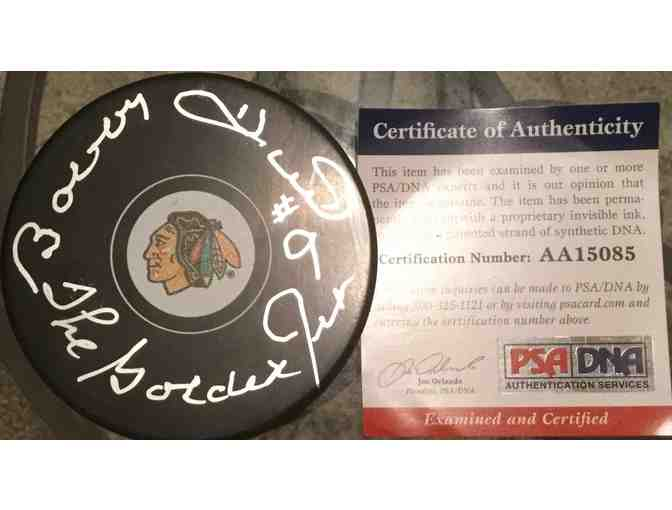 Bobby Hull Autographed Puck
