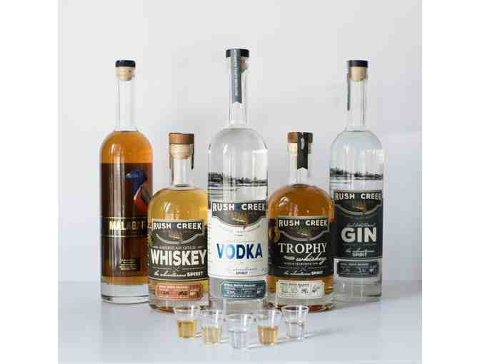 Rush Creek Distilling Spirit Basket