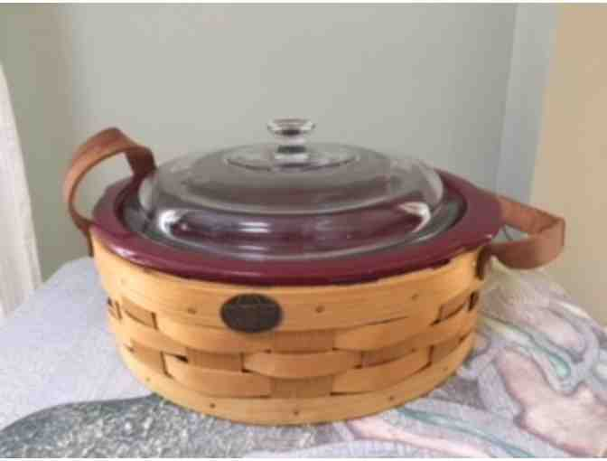 'Peterboro' Casserole Dish and Serving Basket
