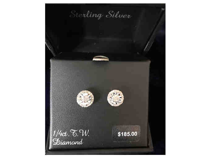 Diamond Earring 1/4 studs