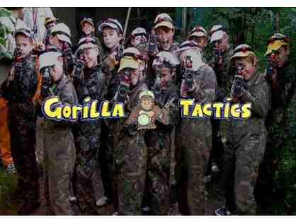 GORILLA TACTICS - 1 HOUR LASER TAG FOR 4 PEOPLE