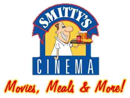 SMITTY'S CINEMA - 4 PACK OF MOVIE PASSES