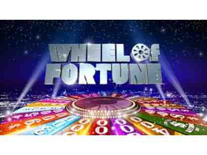 4 Passes to Wheel of Fortune Filming