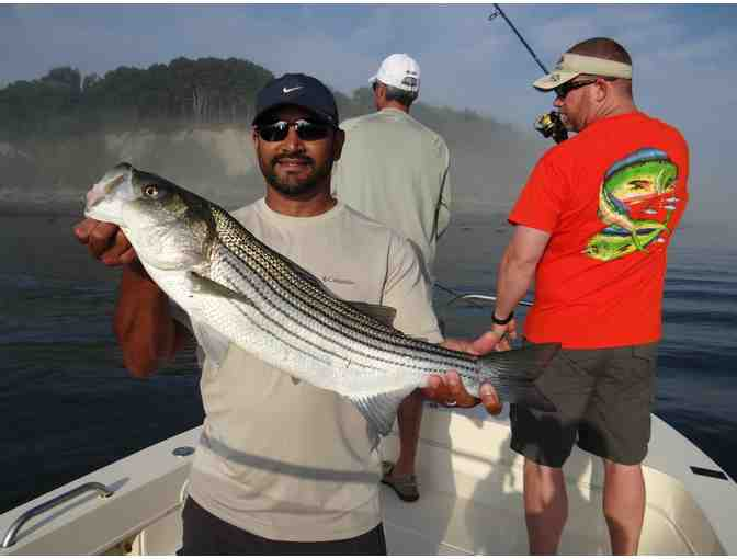 5-Hour Guided Fishing Charter for Two Anglers on Boston Harbor - Photo 3
