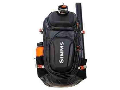 SIMMS G4 Pro Backpack with Private ADVANCED Fly Casting Lessons with Fly Casting Champion