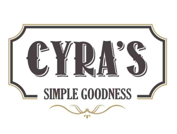 $100 Gift Card to eat at Cyra's in Dalton, GA - Photo 1