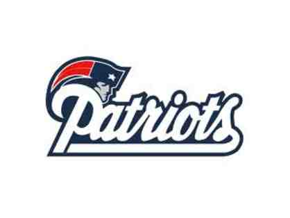New England Patriots 50 Yard Line Putnam Club Box Tickets (4)