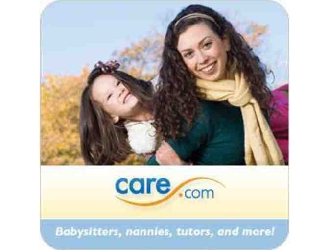 Find Great Child Care Services near you Today! 1-year Membership to Care.com!
