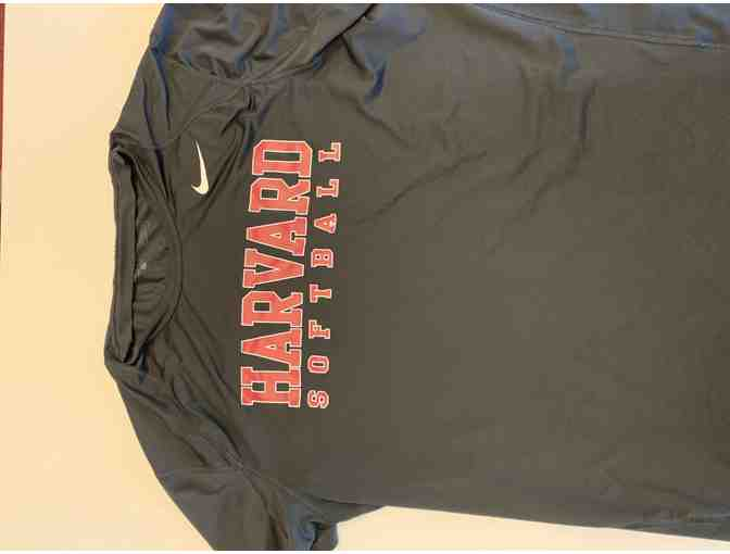 Harvard Softball Nike Black SS Men's Shirt (XXL)