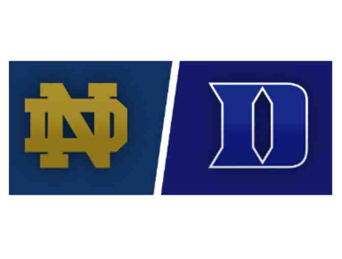 2 Football Tickets to ND vs. Duke Football at ND - Photo 1