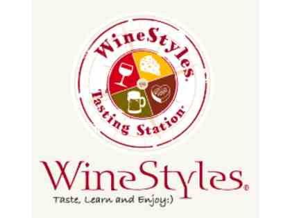 $25 Gift Card to WineStyles Tasting Station