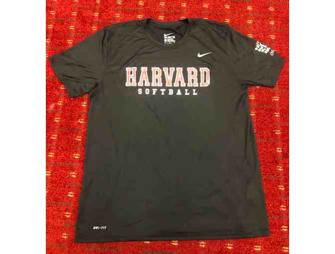 Harvard Softball Dri-Fit SS Tee (Men's XL) - Photo 1