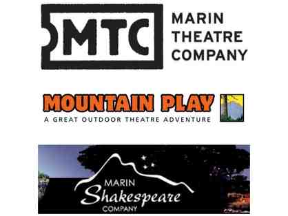 Marin Theatre Company, Mountain Play, and Marin Shakespeare Company