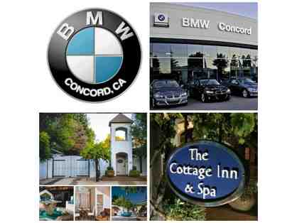Sonoma Getaway | BMW Concord and Cottage Inn & Spa