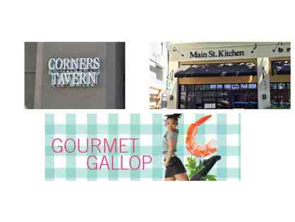Corners Tavern, Main Street Kitchen, and Diablo Ballet's Gourmet Gallop