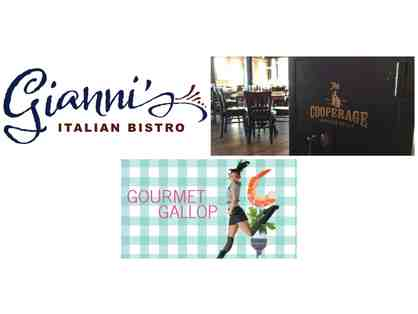 Gianni's Italian Bistro, The Cooperage, and Diablo Ballet's Gourmet Gallop