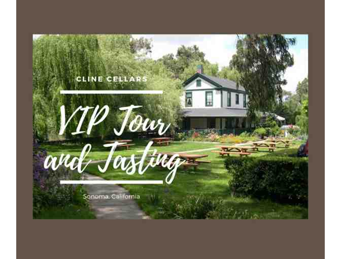 VIP Tour and Tasting at Cline Cellars