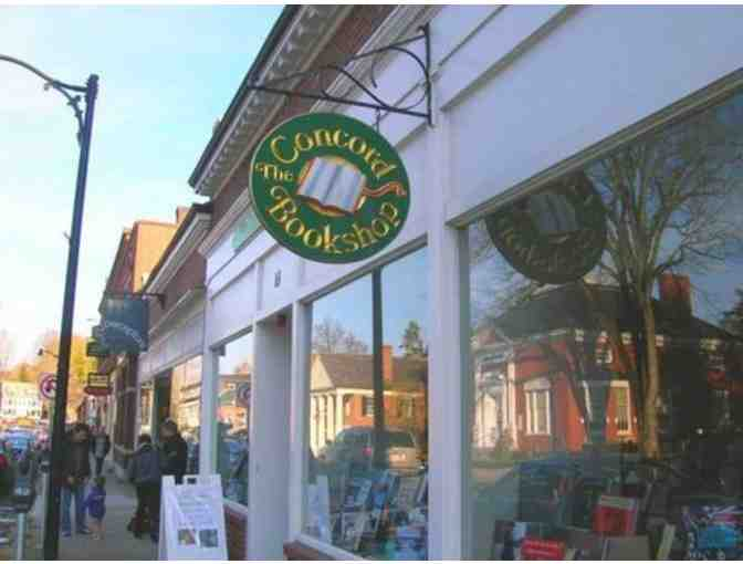 The Concord Bookshop - $15 Gift Certificate