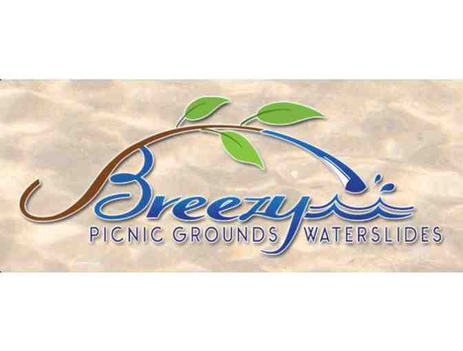 Breezy Picnic Grounds & Waterslides - Full All-Day Admission for 4