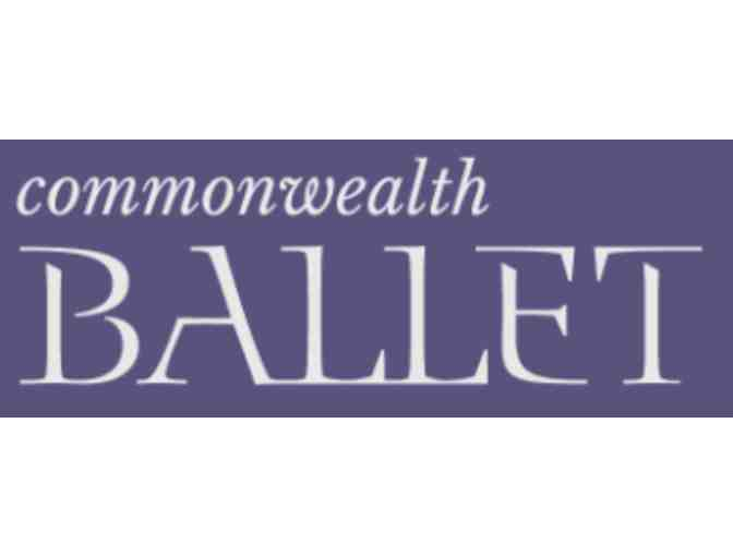 Commonwealth Ballet- Four Tickets to The Nutcracker