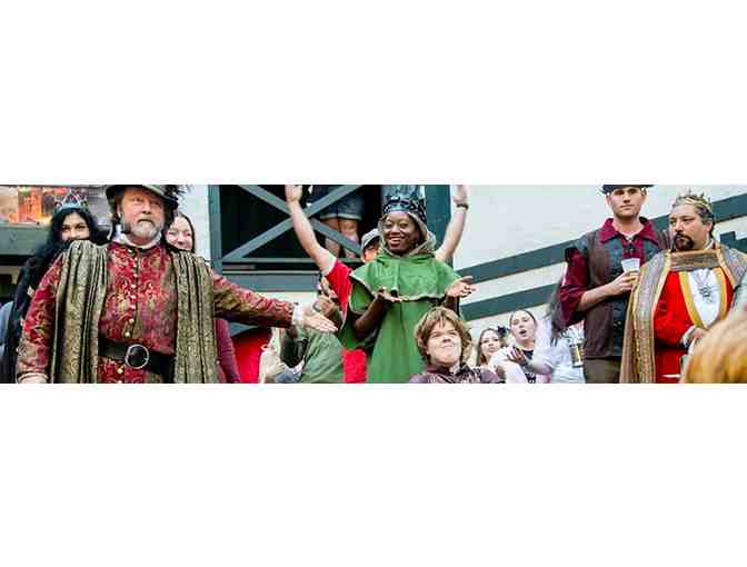 King Richard's Faire - Family Four-Pack of Tickets 2019 Season