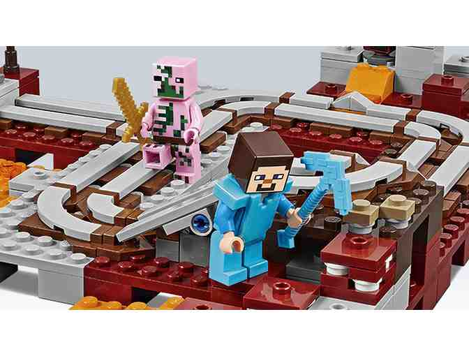 Lego Minecraft: The Nether Railway