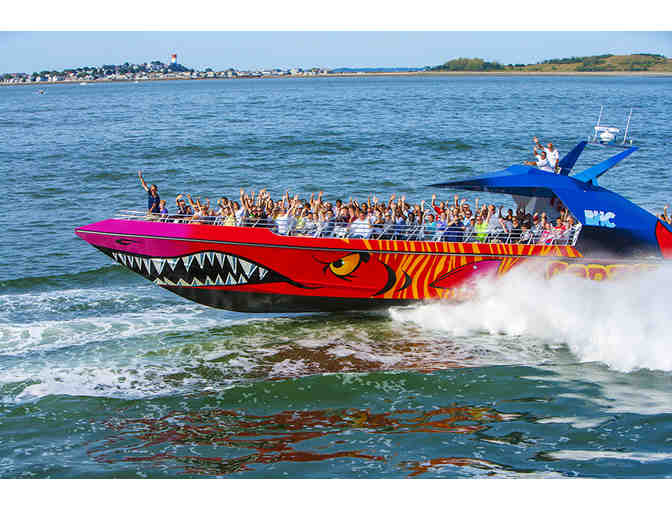 Boston Harbor Cruises - Codzilla Thrill Ride for Two Adults & Two Children