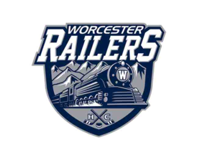 Worcester Railers HC Pro Ice Hockey - Four Tickets