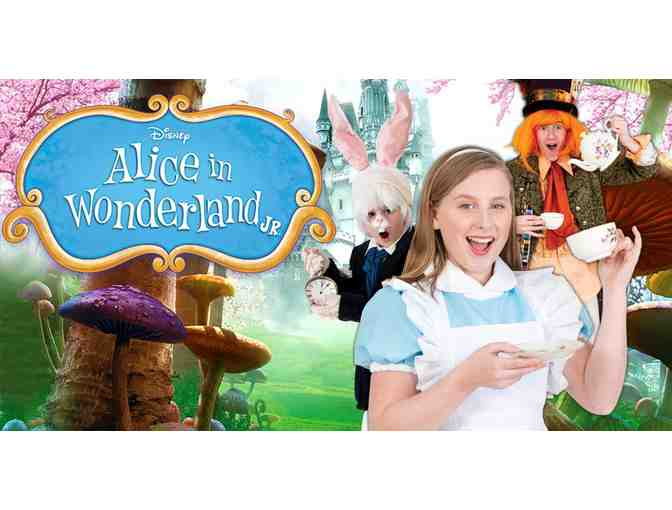 Stadium Theatre - Four Tickets to Alice In Wonderland Jr.