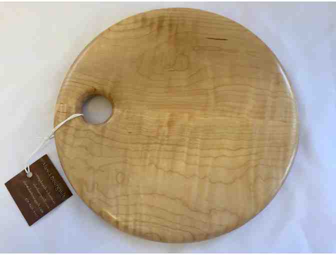 Hand Crafted Wooden Cutting Board - 10' Round, Maple