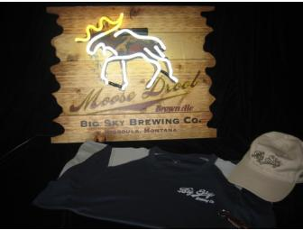 Big Sky Brewing Company Neon Sign And Promotional Items