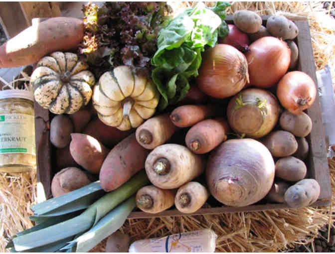 Red Fire Farm Locavore Deep Winter CSA Farm Share in Boston Area or Western Massachusetts