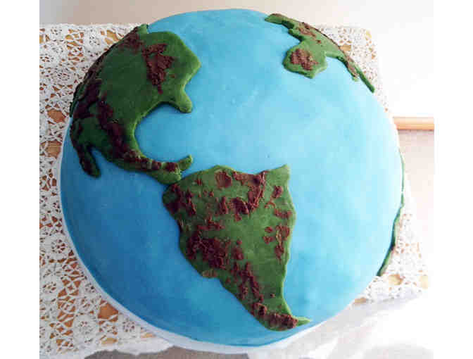 129.  'Earth Cake' by Marcia Puri