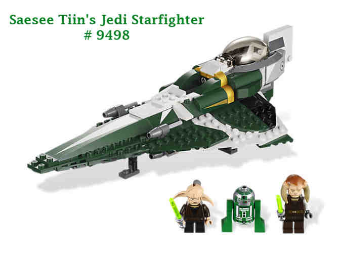 Star Wars Jedi Starfighter Lego Set