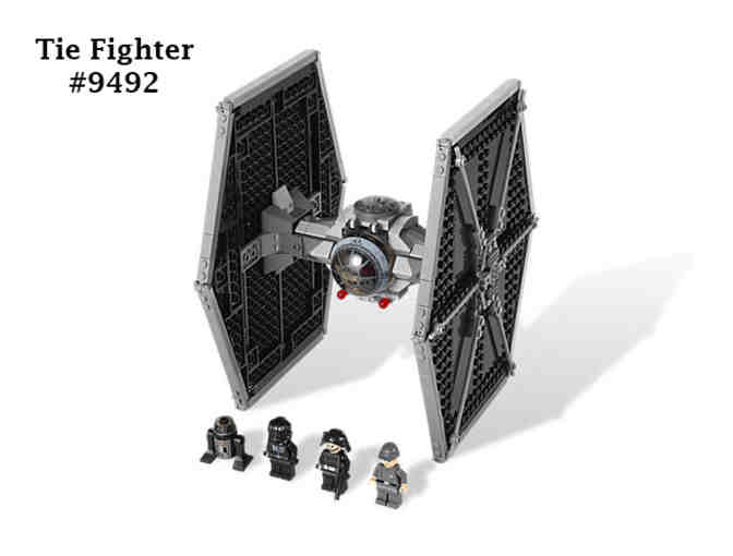 Star Wars Imperial Starfighter & Tie Fighter Lego Set
