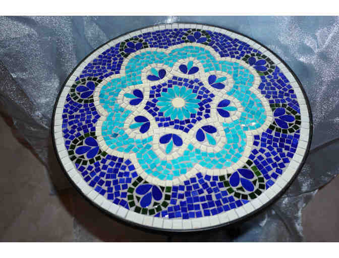 Pier One Glass Mosaic Table